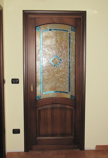 Porte con vetri colorati - Vetri decorati per porte scorrevoli ...